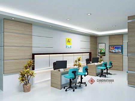 Interior Kantor Pelayanan Kediri - Interior Kantor Kediri - Interior Ruang Kerja - Interior PLN Probolinggo - Interior Kantor Pasuruan
