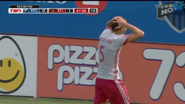 #MLS  RED CARD: Gonzalez Pirez is sent off for denying a goal-scoring chance