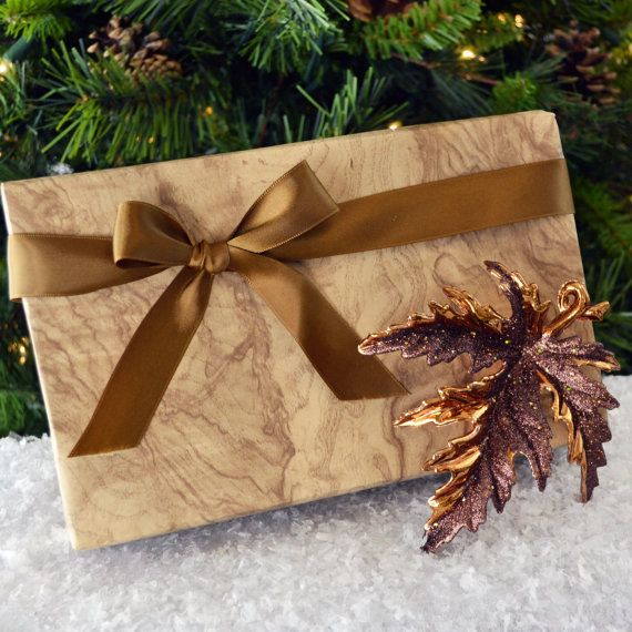 Olive Wood Wrapping Paper