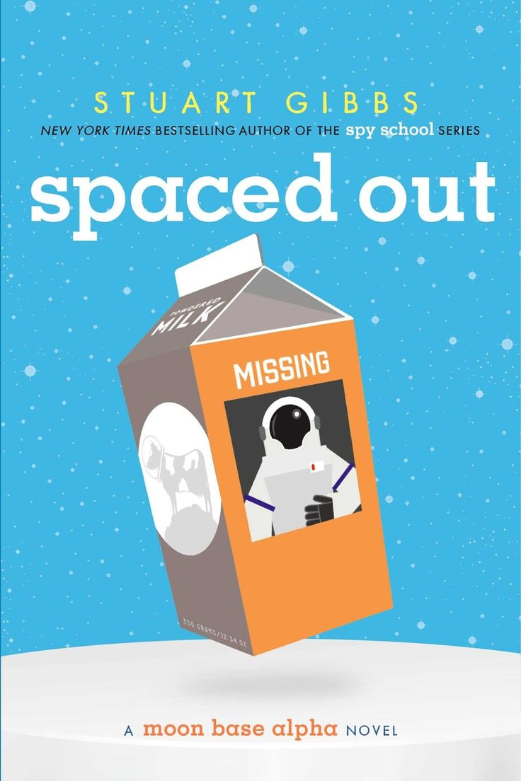 KISS THE BOOK: Spaced Out by Stuart Gibbs - ESSENTIAL