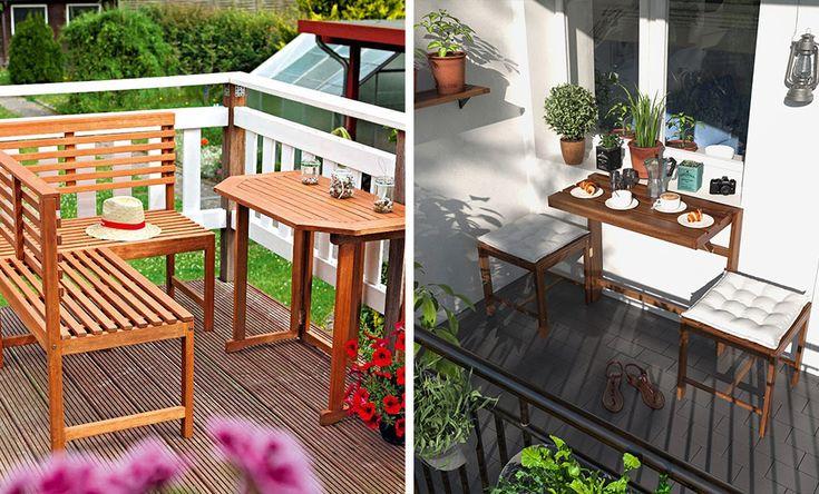 Balkonmöbel Für Wenig Platz 2021