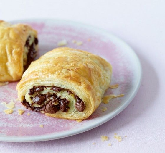 Schokotaschen - danach will keiner mehr die Schokocroissants vom Bäcker. Und günstiger ist diese Version sowieso.