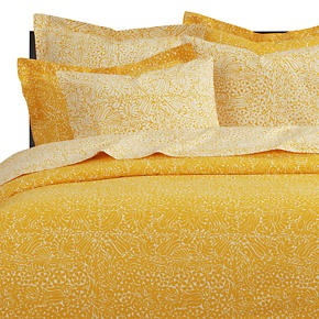 Crate And Barrel Tamara Yellow Bedding