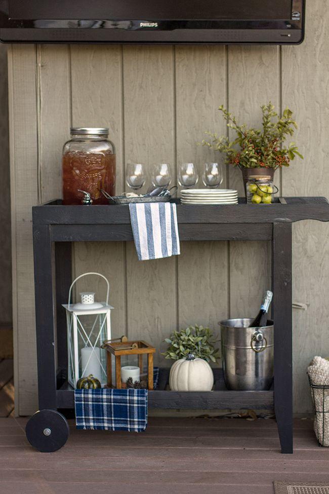 Living Room Updates: A DIY reclaimed wood coat rack | Jenna Sue Design Blog