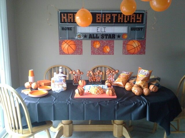 Basketball+Theme+Party+Ideas