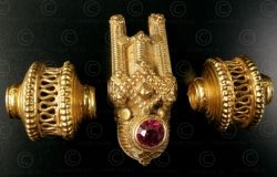 Gold marriage pendant BD118