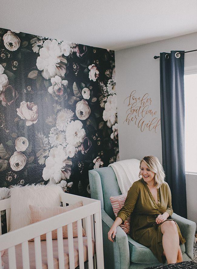 Best 25 floral wallpapers ideas on pinterest wallpaper for Fur wallpaper room