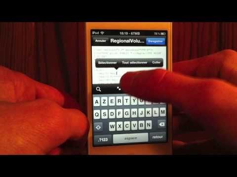 C'est très simple , en haut à droite sur le côté il y a le bouton en bas pour baisser en haut pour monter le son Débrider le volume de son iPhone, iPod Touch ou iPad
