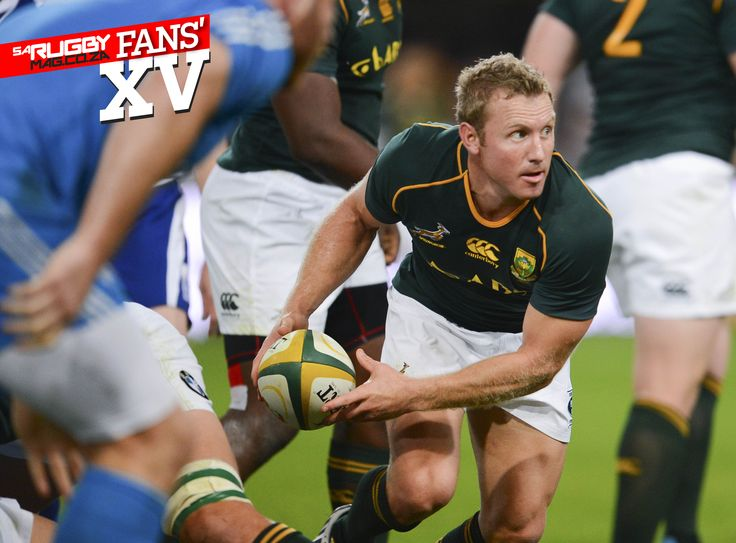 Jano Vermaak would play scrumhalf in my Springbok Fans XV team | #SARugby mag