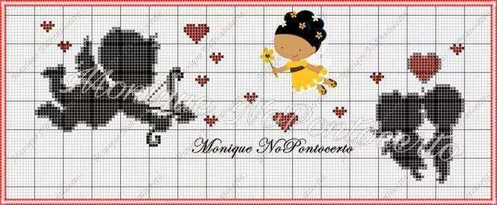 Vamos deixar o amor rolar e vamos bordar                      Estes são da page  Monique no ponto certo para conhecer clique aqui!