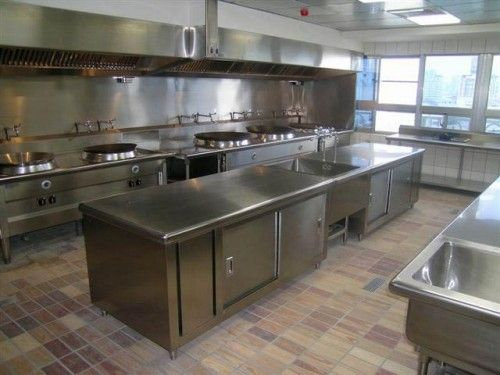 Hotel Kitchen Equipment Design