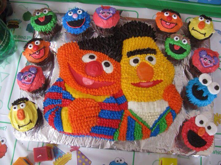 193 Best Thema Cake Ernie Sesamestreet Images On