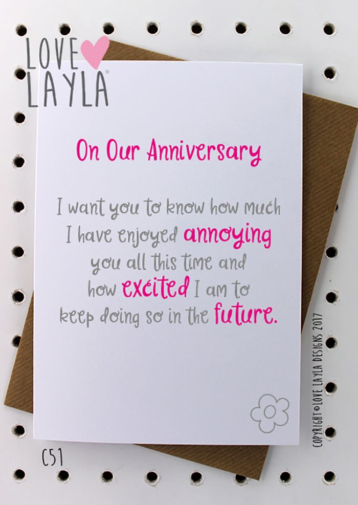 Happy Anniversary Annoying Excited Future Togetherforever Anniversary Love Iloveyou Happya Happy Anniversary Funny Anniversary Cards Anniversary Funny