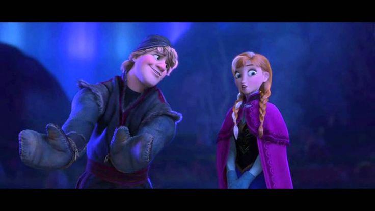 "Disney's Frozen ""Fixer Upper"" Movie Scene (HD) with Anna and Kristoff (H..."
