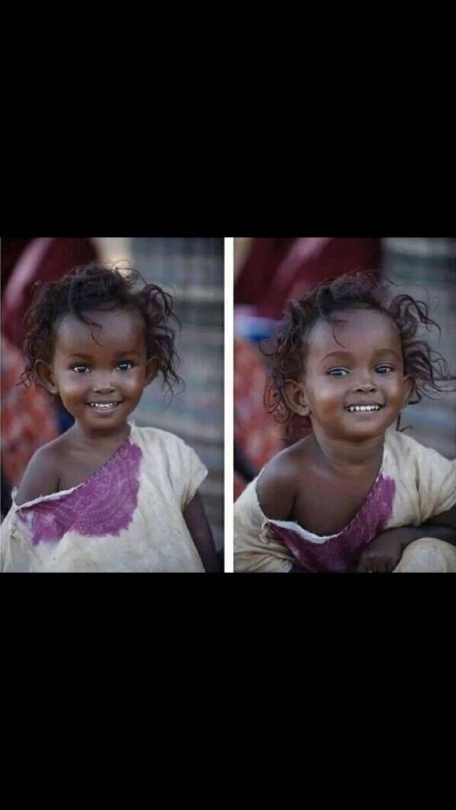 Gel de ırkçılığı böyle güzel gülen bir çocuğa anlat.  Insanlar seni sevmeyebilir de…