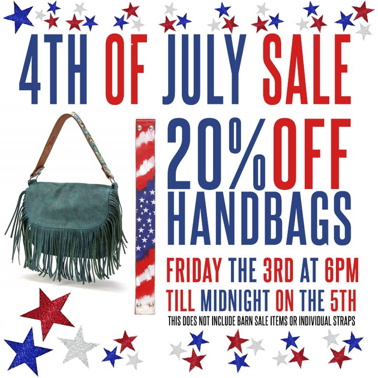 4th of july luggage sale