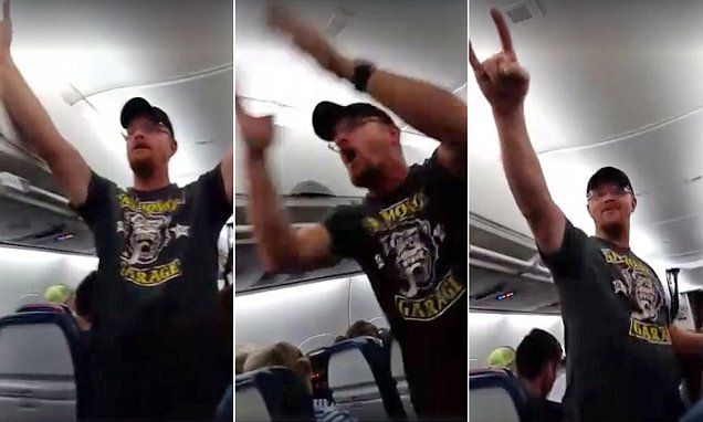 Delta apologizes for not removing Donald Trump supporter who went on bizarre rant | Daily Mail Online