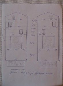 Схемы вышивка на варежках схемы