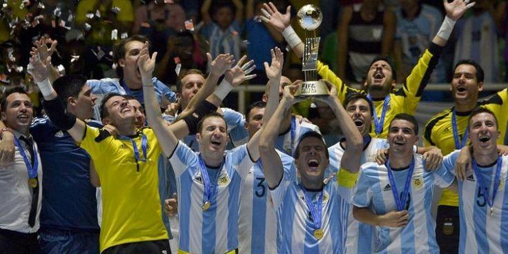 Argentina Juara Piala Dunia Futsal 2016 - KOMPAS.com