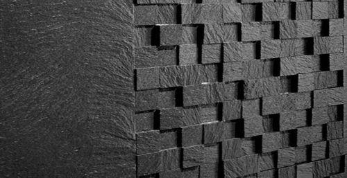 Piastrella da rivestimento 3D in pietra: aspetto mosaico - MOSAIC 3D by q-bo