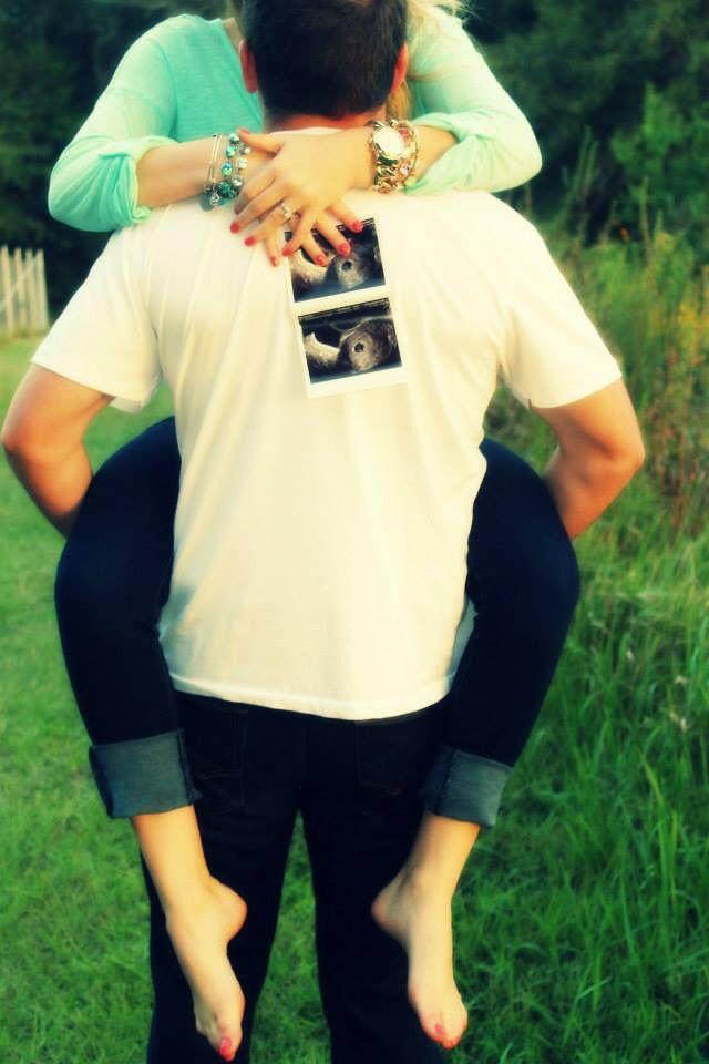 First pregnancy announcement