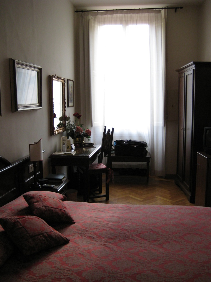 hotel room in florence