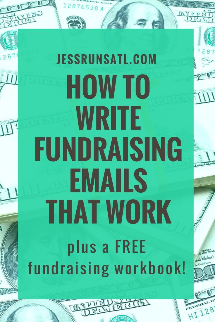Tips on how to write fundraising emails for charity, running for charity, charity marathon, raising money