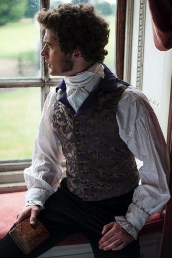This shirt is good, waistcoat good in nice colours.  Regency-Men Set 4 | Richard Jenkins Photography