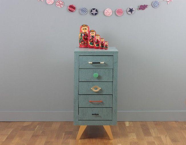 caisson de bureau meuble vintage toulouse
