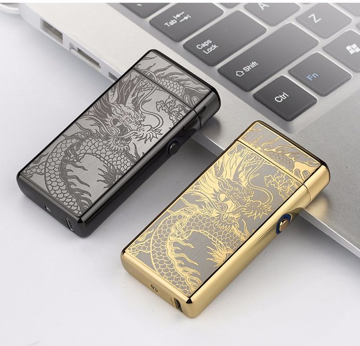 Noble Thin 11mm LED Smoke Cross Double Arc Lighter USB Pulse Cigar Lighters Men Cigarette lighter Case Cigarette Box-2018 //Price: $49.98 & FREE Shipping //     #hashtag1