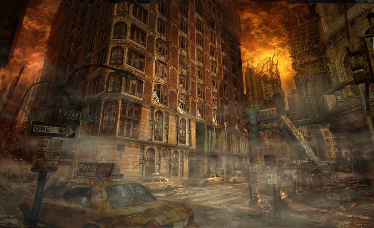 ArtStation - Concept art for the game 'NeverDead' , Greg Staples