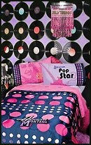 music theme bedrooms glam rock punk theme - music theme bedroom decor - Rock Star wall decals