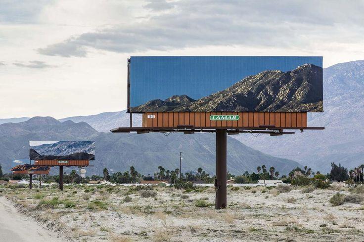 Billboards Blending Into The Landscape By Jennifer Bolande