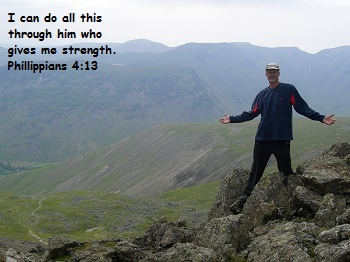 "Phillippians 4:13 ""I can do all this through him who gives me strength"" Bible Verses About Strength"