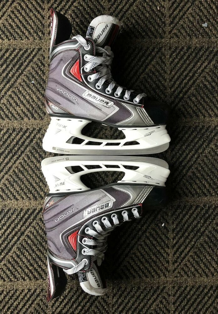 Bauer Vapor X60 Mens Sz 6 Hockey Skates Light Use #Bauer