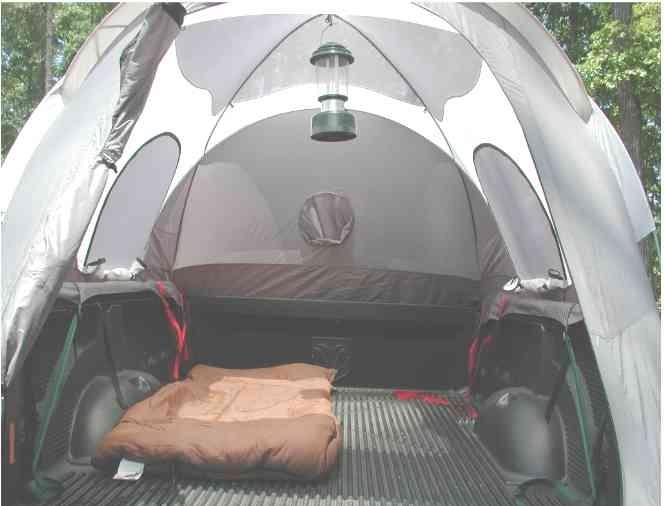 tent in back of pickup truck inside canvas campers caravans pinterest. Black Bedroom Furniture Sets. Home Design Ideas
