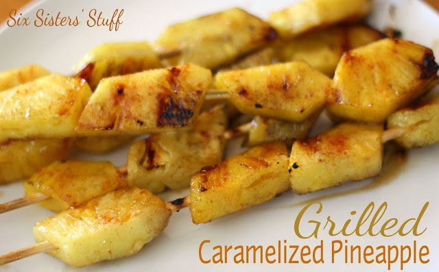 Grilled Caramelized Pineapple  Rodizio Grill Copycat