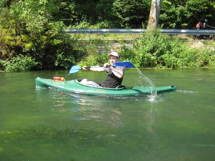 Auf die richtige Technik kommts an, auch beim #Kanu und #Kajak fahren ... #Outdoor Erlebnisse auf dem #Fluss