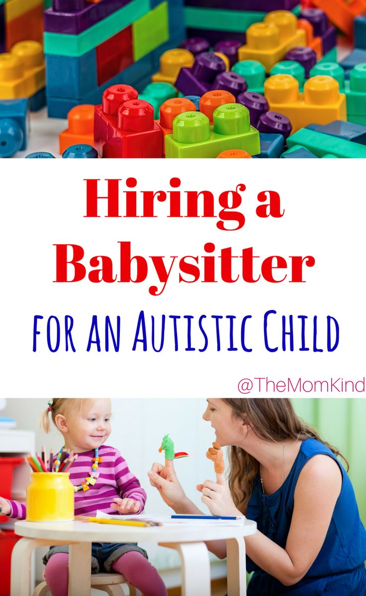 Hiring a Babysitter for an Autistic Child Shouldn't be hard! Find out the top tips from the experts on hiring a babysitter for an autistic child Keywords: Autism, Special Needs, Caregivers, Babysitters