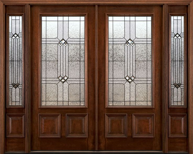 nice exterior double doors design ideas with two sidelights and wooden materials fascinating double entry doors