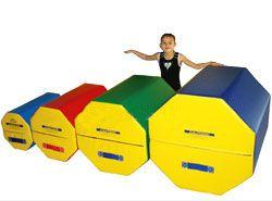 Kids Gymnastics Equipment - Octagon Tumblers.