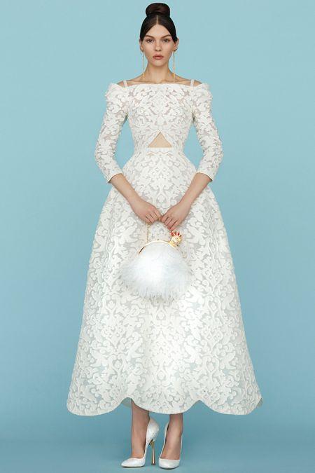 Лукбук коллекции Ulyana Sergeenko Haute Couture весна-лето 2015