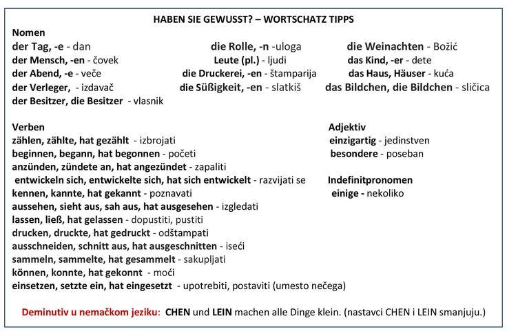 81 besten nemacki jezik Bilder auf Pinterest | Deutsch und Sprachen