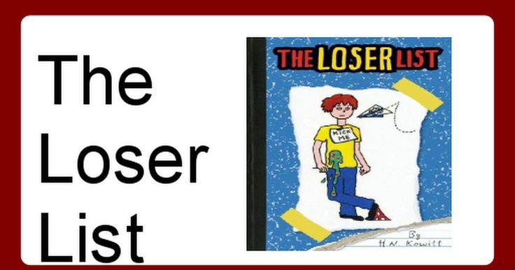 the loser list book report Our class read the jerry spinelli book the loser and created book reports to share.