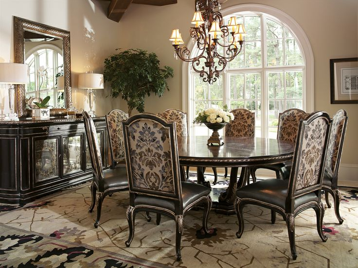 Marge Carson Piazza San Marco Piazza San Marco Dining Room Set