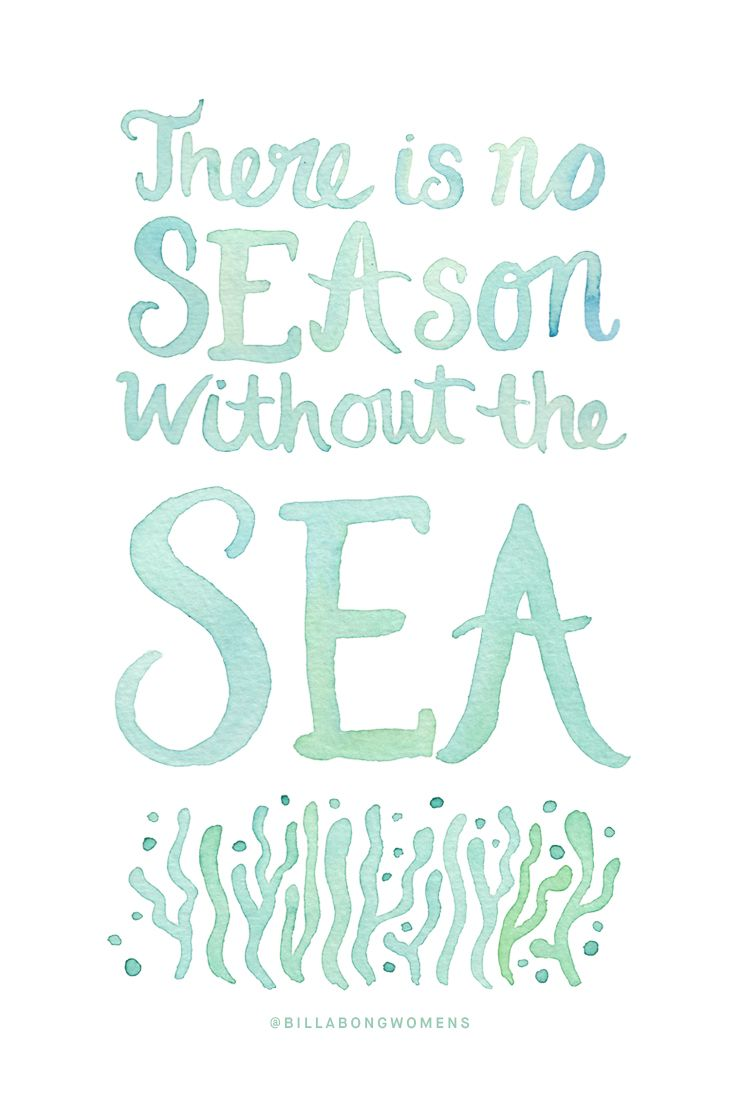 'There is no SEAson without the SEA' || Sun, sand & sea all year around please