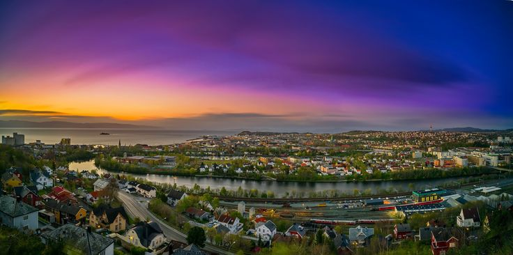 Trondheim Panorama! by Aziz Nasuti on 500px
