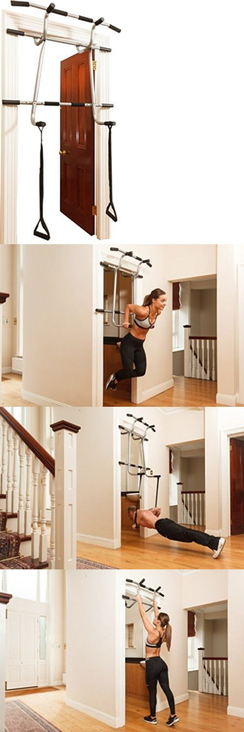 Pull Up Bars 179816: Shamrock Heavy Duty Bodyweight Suspension Trainer Triple Pullup Dip Doorway Gym -> BUY IT NOW ONLY: $107.43 on eBay!