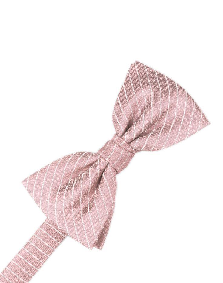 Rose Diamond Grid Pattern Formal Bow Tie