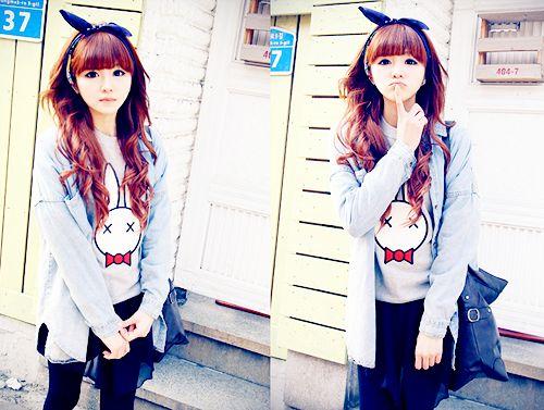 KawaiiUlzzang: ulzzang's girls Fashion
